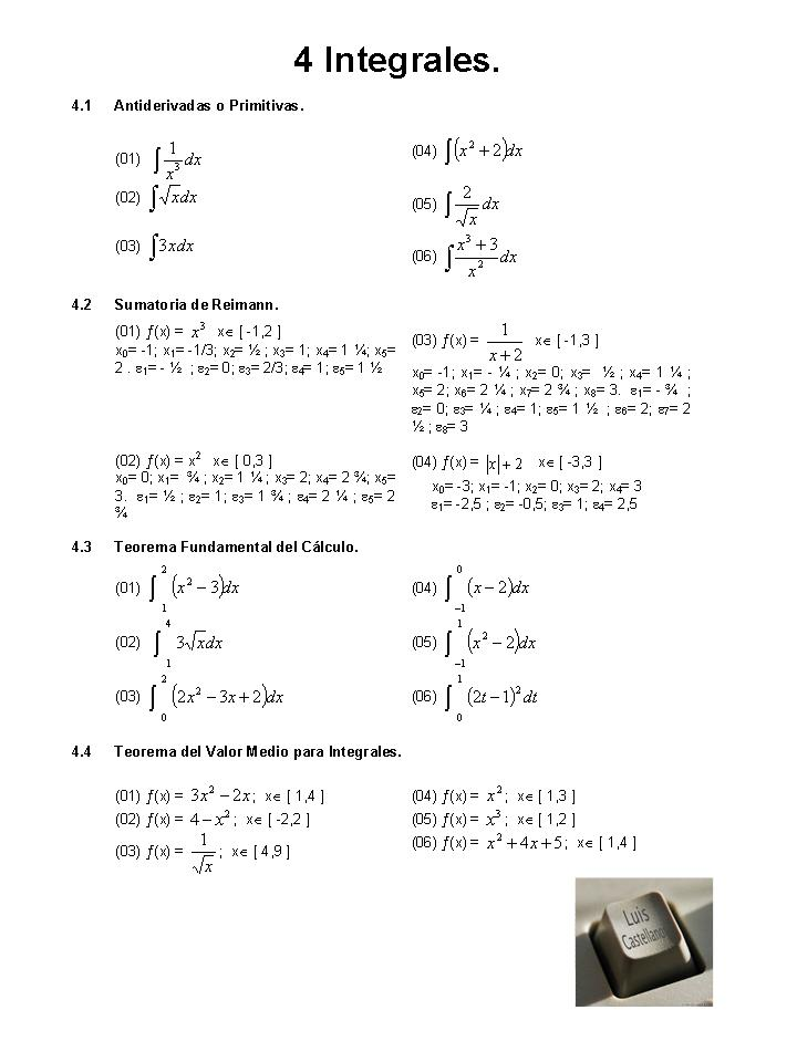 Matemáticas | Blog de Luis Castellanos