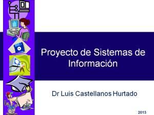 Proyecto de Sistemas de Información (Portada)